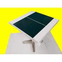 Set de table design aspect simili cuir marbré vert 47 x 34 cm  NEUF