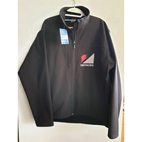 Veste paddock Blouson first racing softshell noir Taille XL