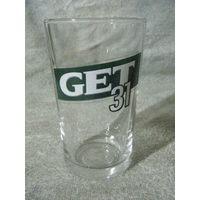 LOT DE 6 VERRE GET 31 CONIQUE 33 CL