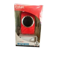 EXTEL Carillon sans fil mobile LOOBS rouge neuf (2)