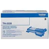 brother tn-2220 toner laser d'origine 2600 pages noir neuf