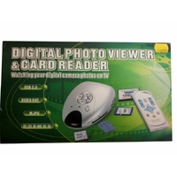 Lecteur TV photo USB CF1 CF2 SD MMC MS SM MJPG VID