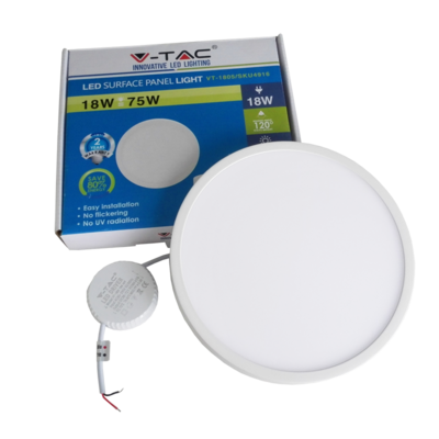 downlight-led-saillie-v-tac-18w-dimmable-vt-1805