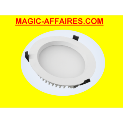 AIRIS Downlight LED étanche 35W 8 DL358 NWIP44 LUMINAIRE 4000°K - 228 - 200mm