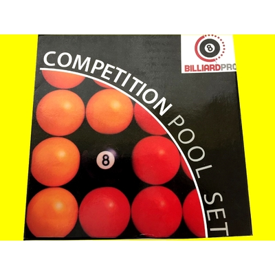 Boule de billard competition pool set Billiard Pro Neuf