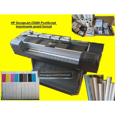 HP DesignJet Z5200 PostScript imprimante grand format plus stock