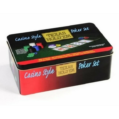 Casino Style Texas Hold'em Poker Set by Texas Holdem NEUF.