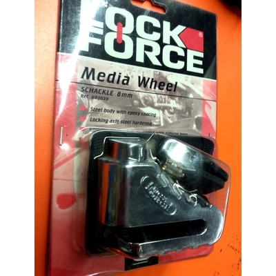 ANTIVOL DISQUE LOCKFORCE MEDIA WHEEL 8mm