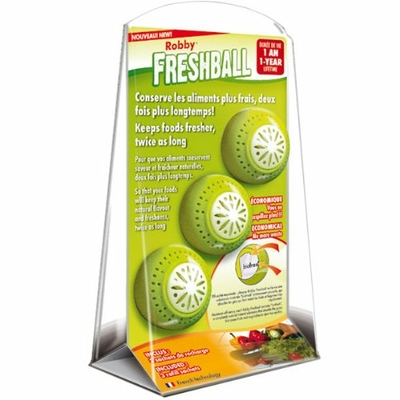 Robby freshball Lot de 3 boules conservation aliment