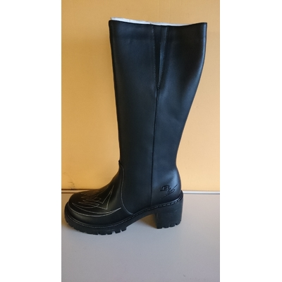 Sha-Sha billylane she Boot w 40.5 Black & silver Fine Shoes