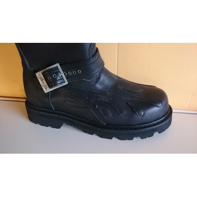 Sha-Sha bottes e-Boot II Black Fine Shoes.