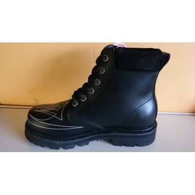 Sha-Sha boot billy lane Black silver Fine Shoes