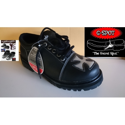 Sha-Sha boot baron low Black silver Fine Shoes