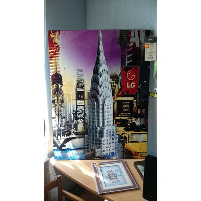 Tableau photo new york color 120x90 cm H&H