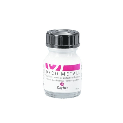 VERNIS DE PROTECTION DECO MÉTAL 'RAYHER' 25 ML