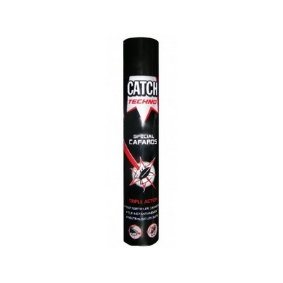 CATCH Bombe insecticide spécial cafards 750 mL