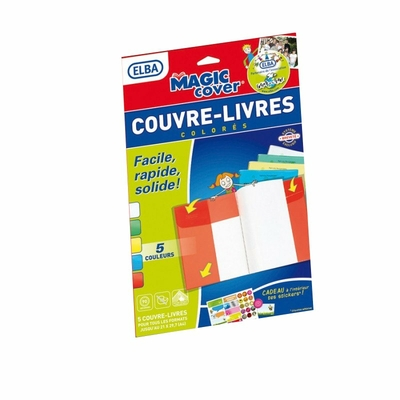 elba 5 couvre-livres-magic-cover-a4