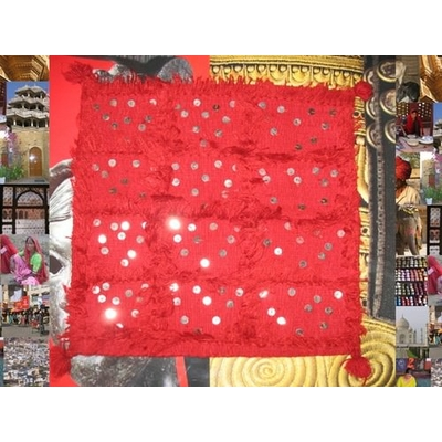 Housse de Coussin 47x46 cm Miroirs Coton Brodé magic affaires N°3