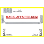 OPSIAL Fermeture barre antipanique 1 point Idéa barre CF 1285mm gris Iséo NEUF