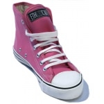 chaussures BIO Baskets Ethletic rose Montante T:38