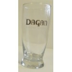 LOT DE 4 VERRE DE COLLECTION DAGAN CELTIC CIDER 0,25L