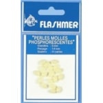 Flashmer perles molles phosphorescentes 5mm