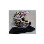 CASQUE CROSS chok choking helmet T_ M neuf prix déstockage
