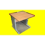 complement table bureau hetre  80x80 cm