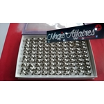 Lot revendeur 100 BAGUES acier stainless inoxydable déstockage magic affaires