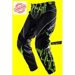 PANTALON MOTO CROSS O'NEAL REPLICA MONSTER ENERGY Taille 40 NEUF