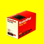 3M ScotcHPad languettes de suspension 1075 - trou en triangle (Paquet de 47 x 10)