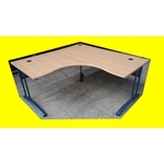 bureau angle professionnel 160 x 160 cm agencement magic affaires occasion ( CODE J )