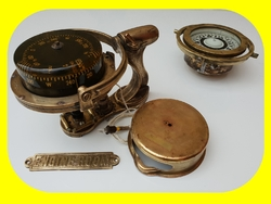 TRADEMARK Sestrel Moore compass - BARKING & LONDON - HENRY Browne & Sons Ltd - N°32770 Pat N° 752093 en bronze et laiton XIXème siècle (4)