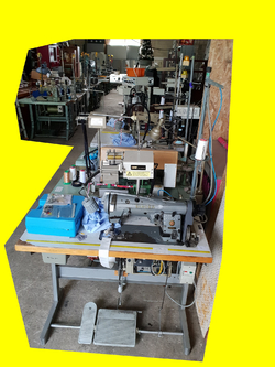 Lot 22 machine a coudre industrielle 220 V occasion PFAFF - JUKI - RIMOLDI - SINGER - DURKOPP - BROTHER
