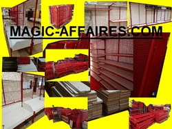 Agencement de magasin commerce solderie boutique de +- 1500 m² Magic-affaires