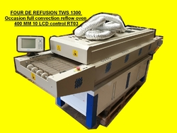 FOUR DE REFUSION TWS 1300 Occasion full convection reflow oven 400 MM 10 LCD control RT03 (3)