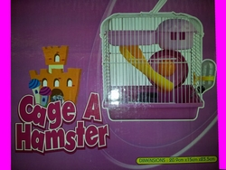 cage a hamster rose 20.9x15x23.5 cm