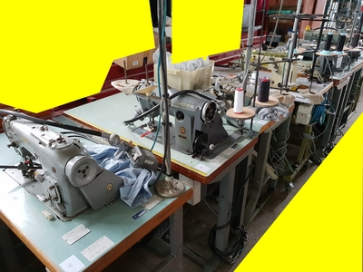 Lot 22 machine a coudre industrielle 220 V occasion PFAFF - JUKI - RIMOLDI - SINGER - DURKOPP - BROTHER (10)