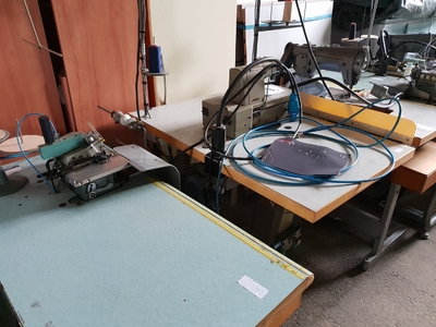 Lot 22 machine a coudre industrielle 220 V occasion PFAFF - JUKI - RIMOLDI - SINGER - DURKOPP - BROTHER (7)