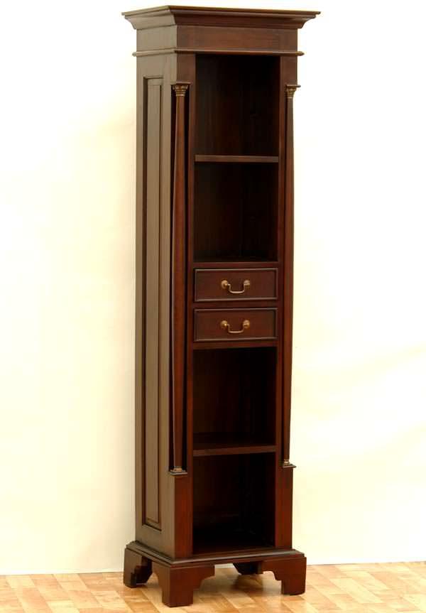 biblioth que style empire en acajou massif meubles de style biblioth ques tag res classic. Black Bedroom Furniture Sets. Home Design Ideas
