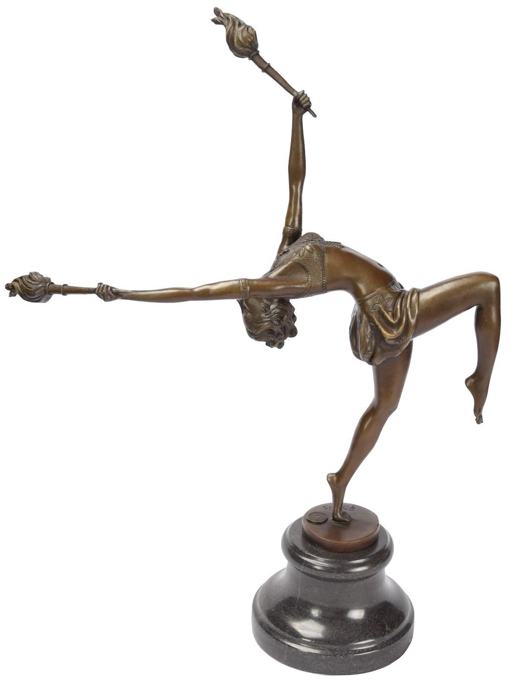 Classic Bronze Déco Art Statues Stores En UqSMVGLzp