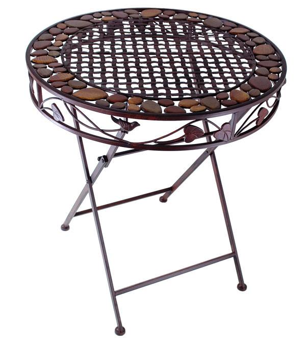 Table fer exterieur faire table mosaique exterieur fer - Table en fer forge exterieur ...