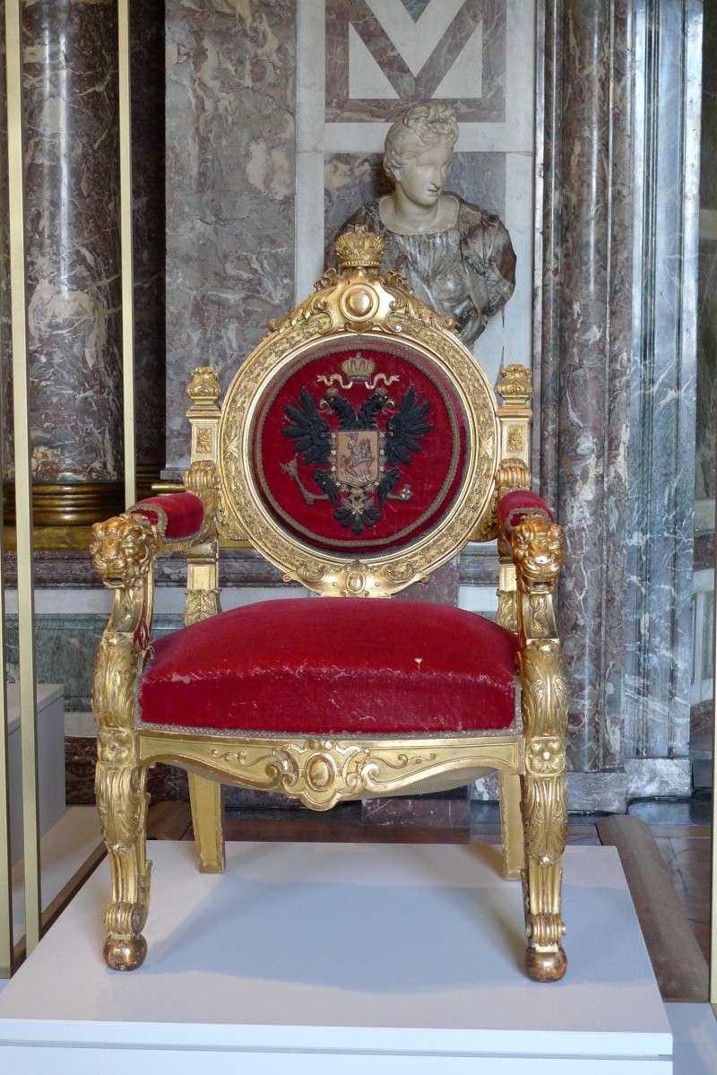 Le tr ne du tsar nicolas ii paris mobilier de style - Meubles de style paris ...