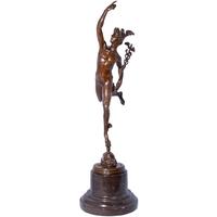 Statue en bronze Dieu Hermès 44 cm