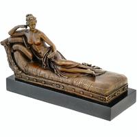 Statue en bronze Pauline Bonaparte Venus Vixtris
