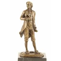 Statue en bronze compositeur Mozart