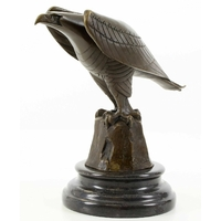 Statue en bronze aigle royal 21 cm