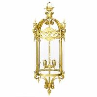 Lanterne en bronze style Louis XVI Ferrières
