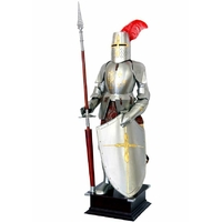 Armure médiévale chevalier de tournoi 205 cm Provins