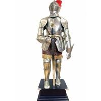 Armure de chevalier médiéval 200 cm en acier du Guesclin
